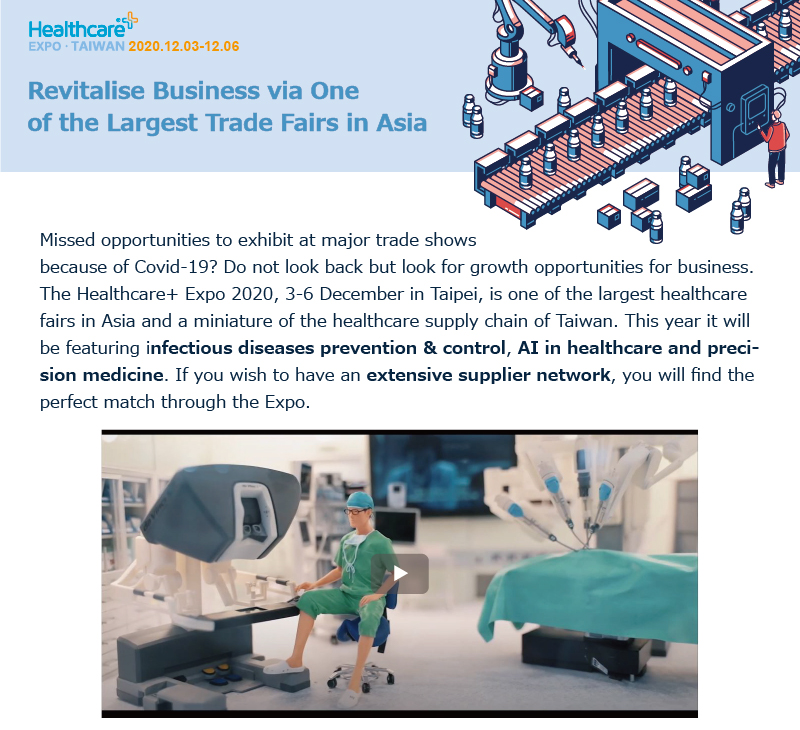 Revitalise business via one of the largest trade fairs in Asia